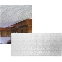 Dimensions Tin Look Nonsuspended Ceiling Tile and Backsplash, 209, 209 Manufactures