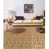 Machine made carpet technics floor carpet for hotel room with floral printed and CE certificate Manufactures