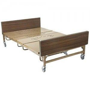 Quality Bariatric Hospital Bed with 2 pair T Rails - 1000 lb Capacity for sale