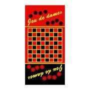 GT-0001 Promotional Beach Towel with Game Design, Customized Sizes and Designs are Accepted