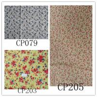 China COTTON VOILE PRINT FABRIC on sale