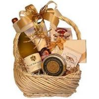 Corporate Gifts White Wine Basket Manufactures