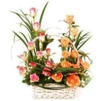 Corporate Gifts The Rose Garden Flower Basket Manufactures