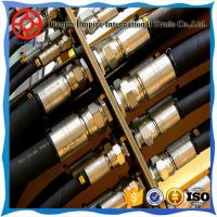 Buy cheap hydraulic hose din en 853 1 layer black wear resistant oem rubber hydraulic hoses from wholesalers