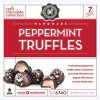 Christmas Collection Peppermint Truffles 7 Piece Manufactures