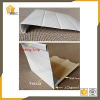 1.0mm thickness Pvc Fascia board for pvc wall siding panel decoration Plastic Profiles Manufactures
