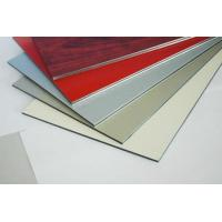 China Gold Mirror Finished Fireproofing Aluminium Composite Panel on sale