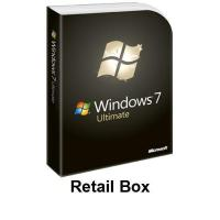 Buy cheap Win 7 Ultimate Retail Box from wholesalers