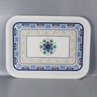 Factory Direct Wholesale Everyday Use Melamine Rectangular Tableware Serving Tray Manufactures