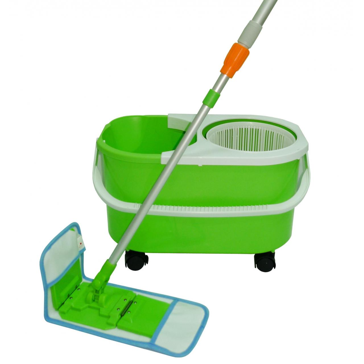 Buy cheap Spin folding flat mop from wholesalers