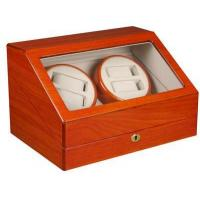 TOP QUALITY AUTOMATIC QUAD WATCH WINDER 4+6 STORAGE BOX CASE-WW4+6OAK Manufactures