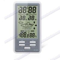 Proudct name:Hygro-Thermometer with Clock & Calendar function DC801,DC802 Manufactures