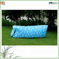 White Dotted Inflatable Air Bed Manufactures