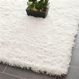 Quality white shag rug 8x10 for sale