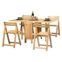 Buy cheap collapsible table and chair set from wholesalers
