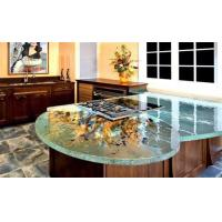 China glass kitchen countertop on sale