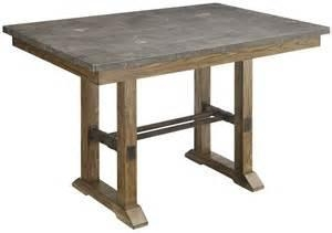 China counter height rustic table