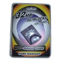 China Game accessories for Nintendo Game cube memory card 32MB on sale