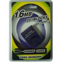 China Game accessories for Nintendo Game cube memory card 16MB on sale