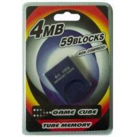China Game accessories for Nintendo Game cube memory card 4MB on sale