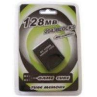 China Game accessories for Nintendo Game cube memory card 128MB on sale
