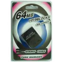 China Game accessories for Nintendo Game cube memory card 64MB on sale