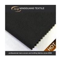 New stylish black stripe 70% poly 30% viscose in Vietnam Manufactures