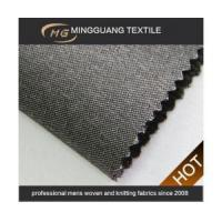 87% polyester 13% rayon fancy shiny suit fabric Manufactures