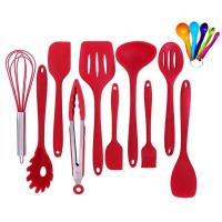 Buy cheap Kitchen Utensils Silicone Kitchen Utensil Set Red from wholesalers