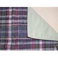 Plaid Quilted Bed Pad Manufactures