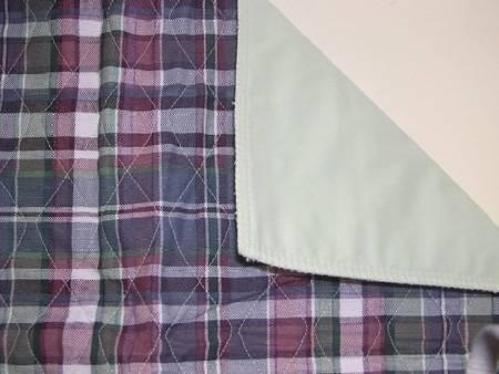 Quality Plaid Quilted Bed Pad for sale