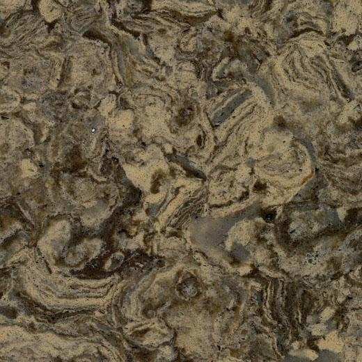 Quality OP8009 Virgin Forest New Color China Supply Quartz Engineered Stone Products for sale