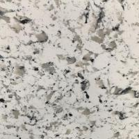 Sesame White Engineered Quartz Kitchen Top Cost in China Manufacturing Factory
