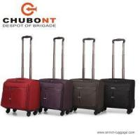 China Designer Flight Laptop Trolley Fabric Pilot Cases Bags with Wheels Fashion 16 Inch on sale