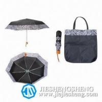 3-Fold Umbrella with Zebra-Stripe Manufactures