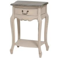 China French Manor Lamp Table with Drawer on sale