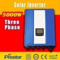 China Prostar GridSolar plug and play 3 phase grid tie inverter 5KW on sale