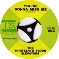 The 13th Floor Elevators You Re Gonna Miss Me Manufactures