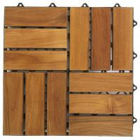 China Interlocking Wood Floor Tiles on sale