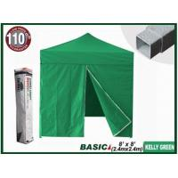 China BASIC 8x8 Canopy Tent + 4 Zipper Walls (Select Color) on sale