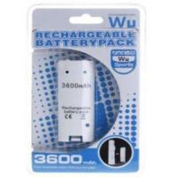 China Rechargeable Battery Pack 3600mAh for Nintendo Wii Remote Controller on sale