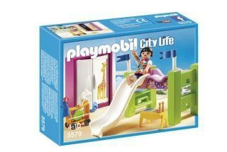 Quality Playmobil #5579 - Childrens Room with Loft Bed and Slide for sale