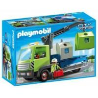 Playmobil #6109 - Glass Sorting Truck Manufactures