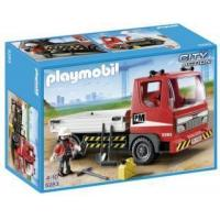 Playmobil #5283 - Flatbed Construction Truck Manufactures