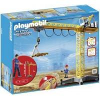 Playmobil #5466 - Large Crane with IR Remote Control Manufactures