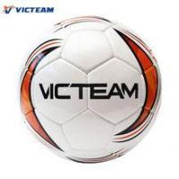 Superfine Hand Stitching Genuine Leather PU Soccer Ball,Wearproof Normal Size Number 5 Football Manufactures