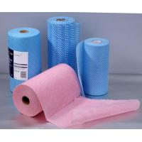 Buy cheap wiping cloth Nonwoven Fabric Roll HYC809 from wholesalers