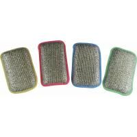 Buy cheap wiping cloth Natural Sponge with Silver pad HYS100 from wholesalers