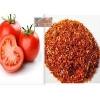 China 100% Natural Dehydrated Vegetable Flakes , Sun Dried Tomatoes Bright Red on sale