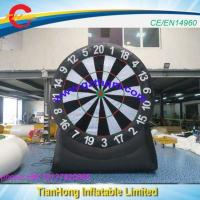 China 3m/10ft Inflatable Throw Dart Game/good Qualtiy Throw Dart Board For Sale wholesale